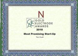Gold Electrode Awards 2018 Most Promising Start-Up