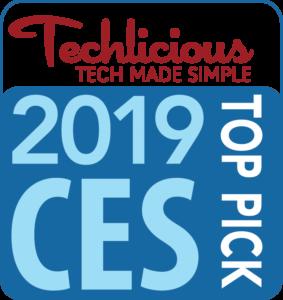 Techlicious 2019 CES Top Pick
