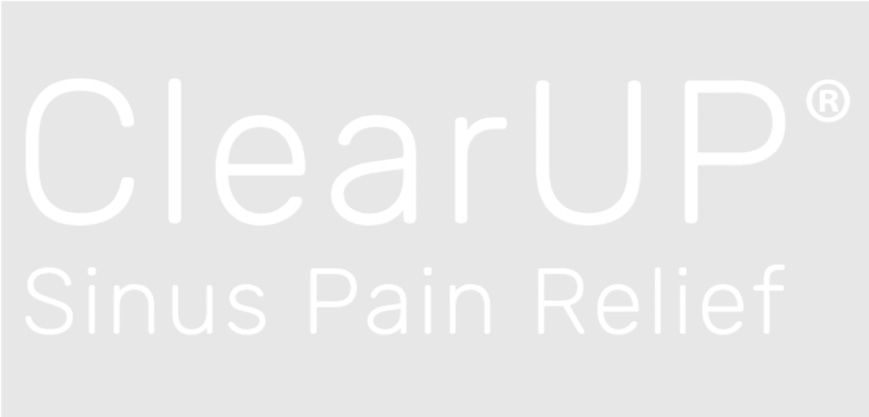 ClearUP™ Logo - Use this version of the logo on dark backgrounds