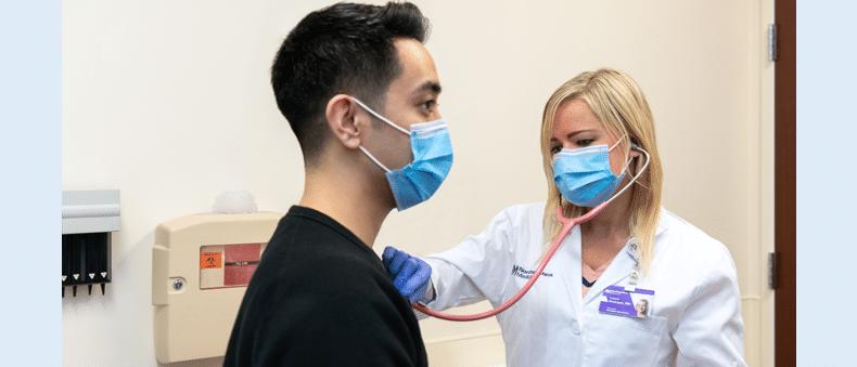 doctorandpatientinmasks